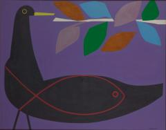 高井貞二《鳥と魚》1965