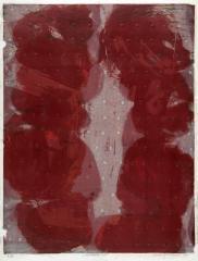 《リトグラフ・レッド》1962年 石版、紙