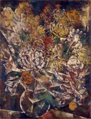 6 地維 1932(昭和7) 油彩、キャンバス