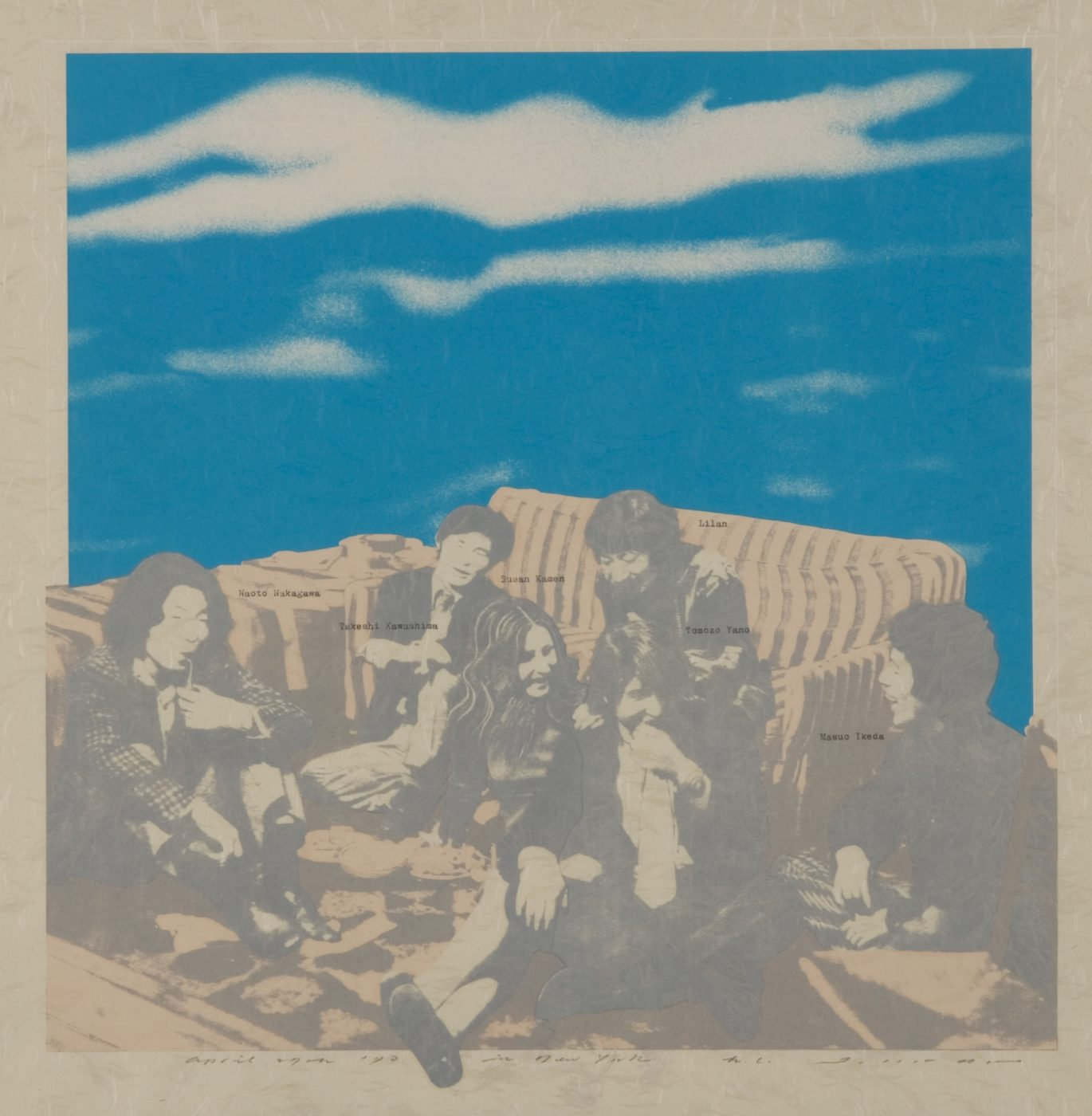 野田哲也《日記 1970年4月27日ニューヨーク》1970