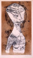 パウル・クレー《内なる光の聖女》 1921年