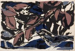 SHIMIZU Takejiro, Thinking Bird, 1959, Mimeograph on Paper, Museum of Modern Art Wakayama