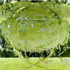 水田 寛《南公園 1》2006(平成18)油彩、キャンバス / 150.0×150.0cm