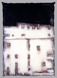野田 裕示《WORK 505》1988(昭和63)アクリル絵具、キャンバス / 262.3×183.2cm