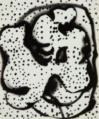 《愛撫》 1951(昭和26) ゼラチン・シルバー・プリント