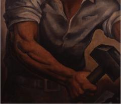 腕 1929(昭和4)年 油彩、キャンバス 東京国立近代美術館蔵