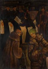 街 1925(大正14) 油彩、キャンバス 和歌山県立近代美術館蔵