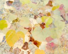 水田 寛《くさむら 12》2008 / 油彩、キャンバス / 181.5×227.0cm