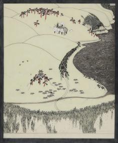 田中恭吉《和歌山風景》1914(大正3)頃