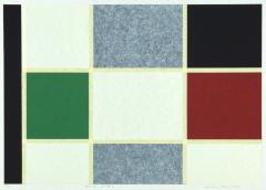 鎌谷 伸一《work no.213》 2000(平成12) シルクスクリーン、紙