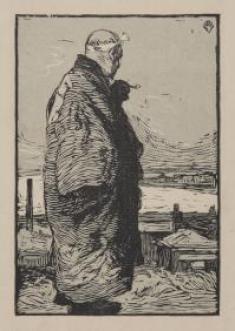 山本鼎《漁夫》1904年
