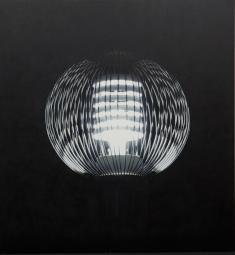 小柳 裕《Shrine (Source of Light 14-7)》2014 油彩、アクリル、麻布、パネル
