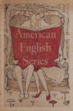 福井良之助『青山学院初等部American English Series vol.1』 1950 年代  謄写版、紙(冊子)