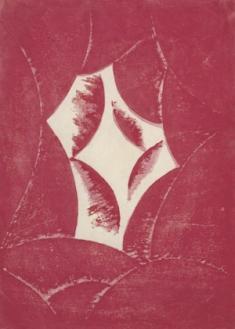 《抒情『あかるい時』》 1915 木版、紙 東京国立近代美術館