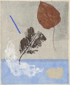 《オブジェNo.4》 1954 実物版、紙 ホノルル美術館 Honolulu Museum of Art, Purchase, 1976 (16708) (C)Honolulu Museum of Art