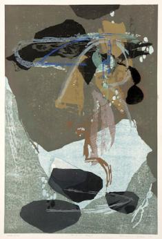 高橋力雄《献花A》1961年 和歌山県立近代美術館蔵