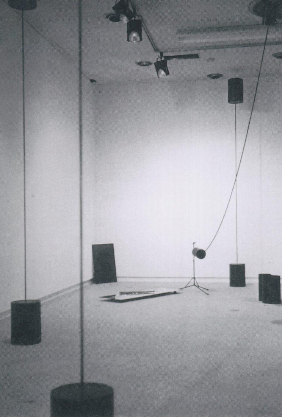 「音のオブジェと音具展」南画廊(東京)1976