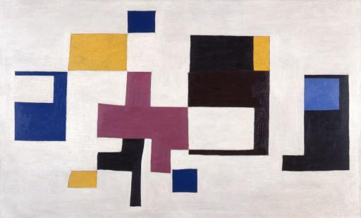 村井正誠《形象 A》1939(昭和14) 油彩、板