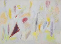 アーシル・ゴーキー《無題(バージニア風景)》1943-44年頃 油彩、カンヴァス 滋賀県立近代美術館蔵