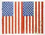 ジャスパー・ジョーンズ《旗 I》1973年 シルクスクリーン、紙 高松市美術館蔵 *前期展示