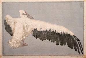 ヴァルター・クレム《ペリカン》1900 ダッハウ博物館協会/ダッハウ絵画館 *前期展示