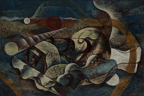 川口 軌外《貝殻》1936