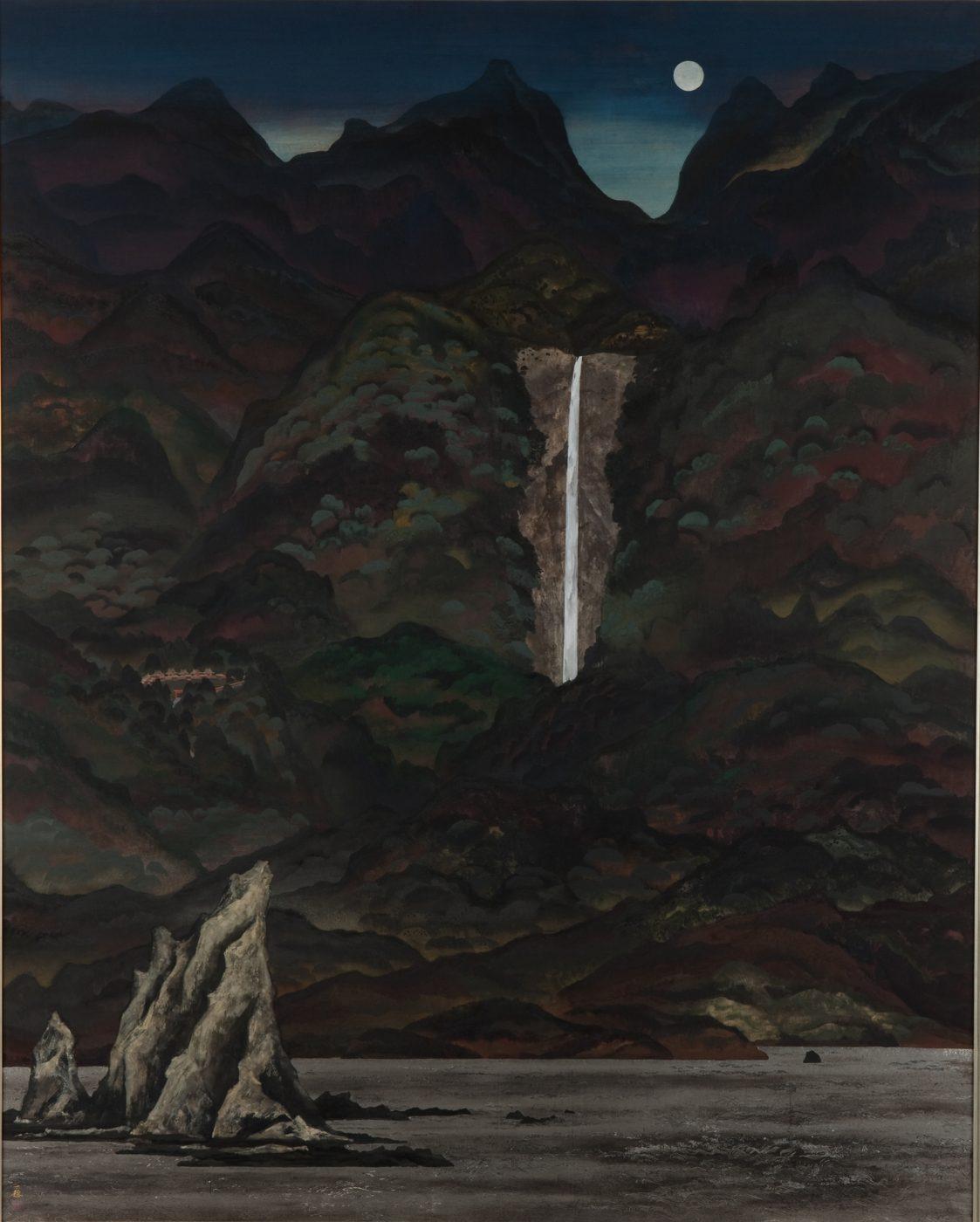 稗田 一穗《幻想那智》1979