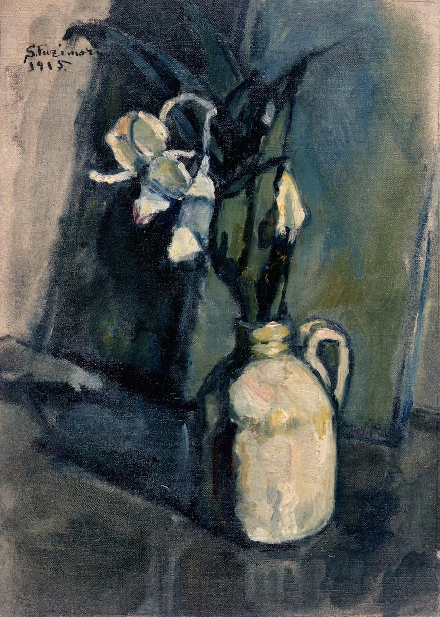 藤森 静雄《花》1915