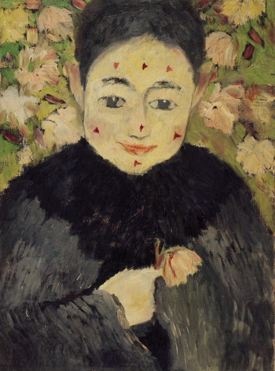 田中 恭吉《バラの刺》1914