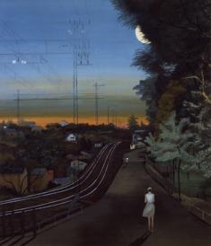 稗田一穗《帰り路》1981
