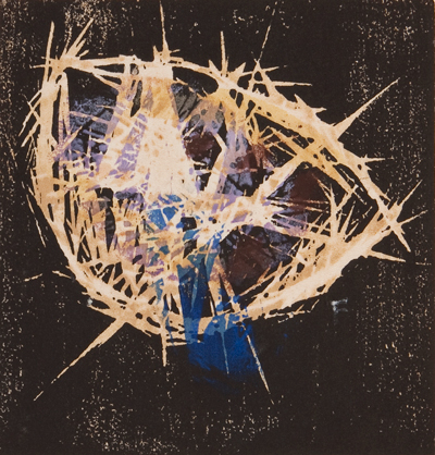 藤牧義夫《つき》『新版画』第12号所収 1934  和歌山県立近代美術館蔵