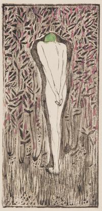 田中恭吉《焦心》私輯『月映』II所収 1914  和歌山県立近代美術館蔵 【前期展示】