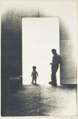 野田哲也《日記1976年8月19日》1976 福島県立美術館蔵