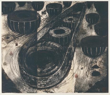 山口啓介《繭の記憶》1991 国立国際美術館蔵