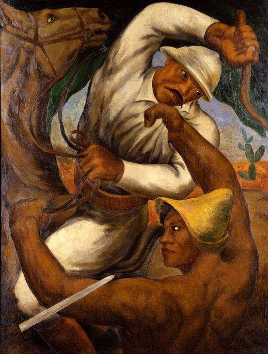 石垣栄太郎 《キューバ島の反乱》1933年