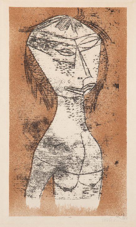 パウル・クレー 《内なる光の聖女》1921年