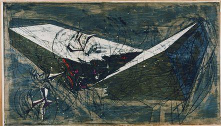 河内成幸《亀裂 (XII)》1986年 当館蔵