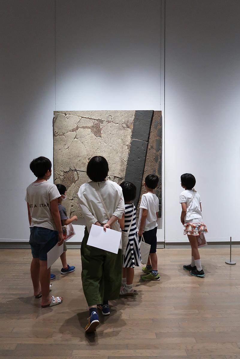 こども美術館部2021年7月のきろく