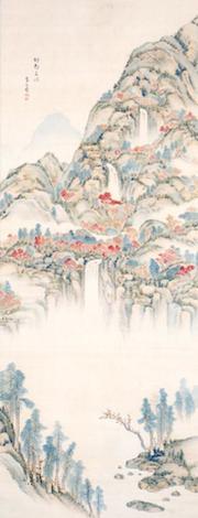 野呂介石《那智三瀑図》和歌山県立博物館蔵