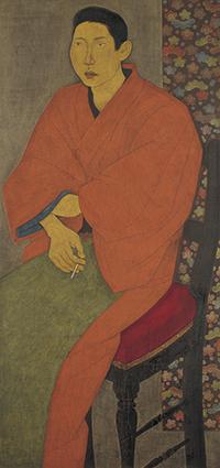 玉城末一《宇吉》1924年 京都市美術館蔵